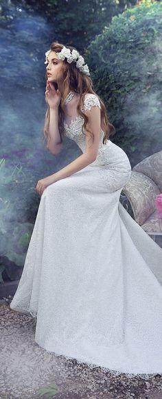 Milva 2016 Wedding Dresses - Fairy Gardens Collection - Belle The Magazine Wedding Gallery, 2016 Wedding Dresses, Wedding Gowns, Beautiful Gowns, Beautiful Bride, Wedding Girl, Elegant Bride, Bridal Collection, Dress Wedding
