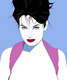 Patrick Nagel - Famous Last Words Patrick Nagel, Simon Bisley, Character Illustration, Illustration Art, Hugo Pratt, Nagel Art, New Wave, Arte Pop, Pulp Art