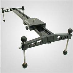 Glide Gear DEV 235 camera slider with adjustable feet. $119.00