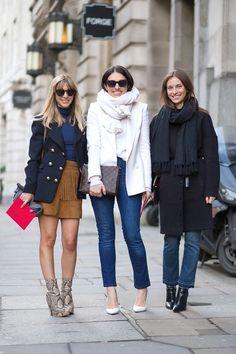 Best London Fashion Week Street Style Fall 2015 - Street Style from London Fashion Week