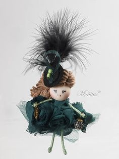Broche muñeca Catherine Z Jones