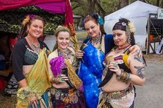 © Bradley Marshall Photography, L.L.C. — with Margie Myers Putman, Lotus Shambhala, Christina M, Apryl-Grace Franklin and Robin Patrella at Camelot Days Medieval Festival 2012.