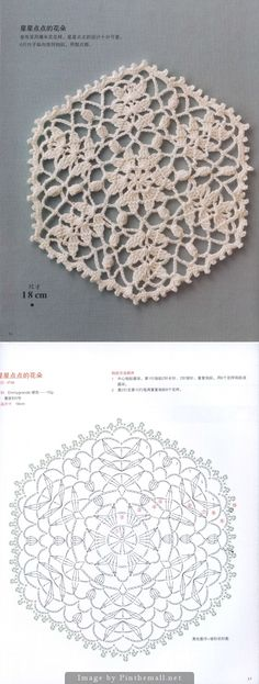 Hexagon motif ~~ Japanese crochet book ~~ http://imgbox.com/g/Ui7cDR4GEV