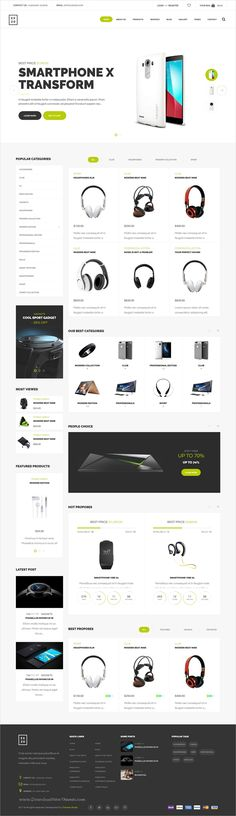 Exzo is a modern and elegant #design responsive WooCommerce #WordPress theme for amazing #electronics store eCommerce website with 10 homepage layouts download now➩ https://themeforest.net/item/modern-electronics-ecommerce-wordpress-woocommerce-theme-exzo/19356950?ref=Datasata