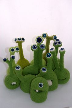 FeltFinland: History of the needlefelted Alien.