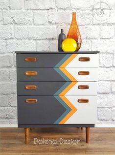 Retro Furniture, Refurbished Furniture, Paint Furniture, Repurposed Furniture, Cheap Furniture, Furniture Projects, Furniture Makeover, Furniture Decor, Furniture Design