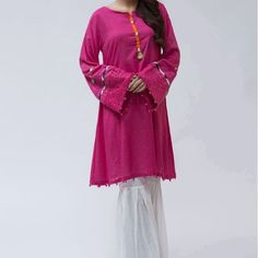 Suit Pink MKD-139 | Pakistani kids outfits | Pinterest ...