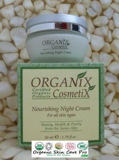 Organic Nourishing Night Cream Organix Cosmetix Organix C…