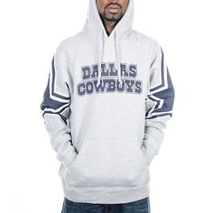 Dallas Cowboys Face Mask Hoody