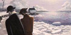"""""""The Winter Beach"""" www.daverheaume.com"""