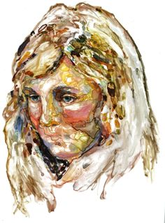 Award recipient: Veronika Djoulai - Whitecliffe - College of Arts and Design- Auckland Go Create, Arts Award, Faces, Waterworks, Auckland, Watercolors, Artist, College, Painting