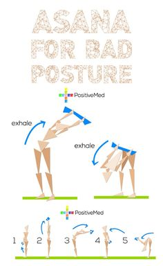 these postures help you improve and correct any problem you can have due to a poor posture such as slouching and curving of the upper back.