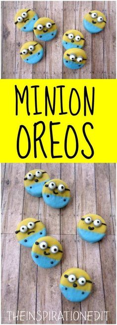 DIY Despicable Me Minions Themed Oreo Cookies. Do you want to make some fantastic oreo cookies or need some ideas for a Minion themed party? Look no further!
