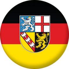 Saarland State Flag