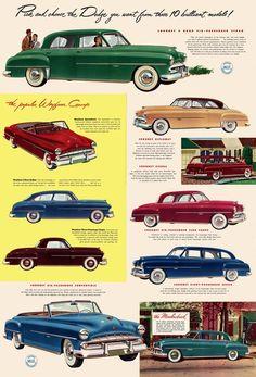 1951 Dodges