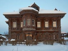 russian home Mysterious and Stunning Russian Homes