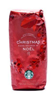 Starbucks Christmas coffee my mom bought like 80 pounds of this stuff this Christmas!!!