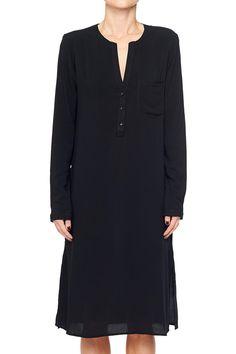 Long Sleeve Tunic in Black