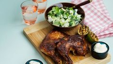 Keto Slow-Cooked Chicken with Broccoli Salad — Recipe — Diet Doctor - coleslaw Slow Cooked Chicken, Boiled Chicken, How To Cook Chicken, Keto Chicken, Broccoli Salad, Chicken Broccoli, Low Carb Recipes, Real Food Recipes, Healthy Recipes