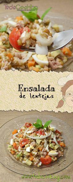 Lentil Recipes, Veg Recipes, Snack Recipes, Healthy Recipes, Cheesy Chicken Spaghetti, Avocado Salat, Healthy Snacks, Healthy Life, Salad Bar