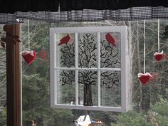 An old window, repurposed by....you got it..ME