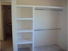 16 Ideas De Closet Concreto Disenos De Unas Muebles Con Durlock Closet De Tablaroca