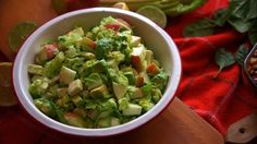 Solution Gourmande, Salad Recipes, Healthy Recipes, Mets, Guacamole, Puddings, Cooking, Ethnic Recipes, Desserts