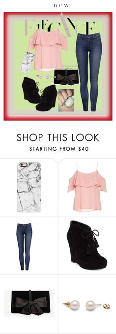 """""""elegance"""" by theizzybee-1 ❤ liked on Polyvore featuring Casetify, BB Dakota, Jessica Simpson and Ann Taylor"""