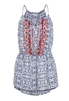 embroidered patterned tunic tank (original price, $29) available at #Maurices