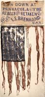 THE FIRST AMERICAN FLAG CAPTURED DURING THE CIVIL WAR
