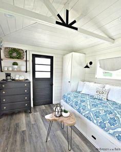 136 best she shed interior design images backyard retreat gardens rh pinterest com