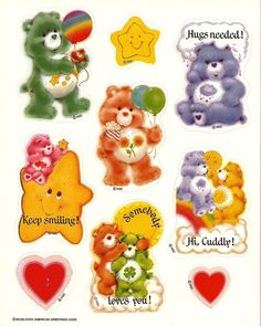 Care Bear stickers!