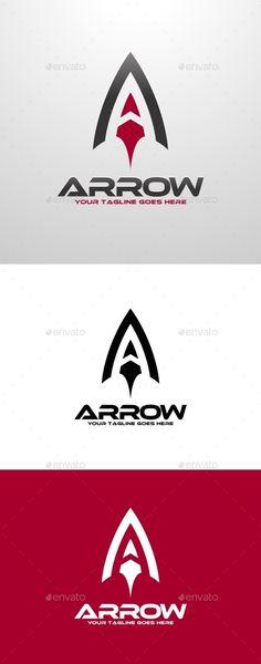 Arrow A Letter Logo — Vector EPS #arrow #arrow logo • Available here → https://graphicriver.net/item/arrow-a-letter-logo/11987544?ref=pxcr