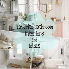 My Favorite Bathroom Interiors And Ideas | By NadineAmanduh
