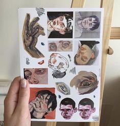 & & The post & & Illustration appeared first on Electronique . Kunstjournal Inspiration, Sketchbook Inspiration, Arte Sketchbook, Drawn Art, Art Hoe, Ap Art, Aesthetic Art, Aesthetic Drawing, Character Aesthetic