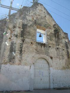 Fachada de Iglesia, Chunhuhub, Quintana Roo, México