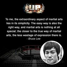 In the words of the great #BruceLee