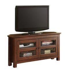 "Walker Edison 44"" Cordoba Wood TV Console, Brown Walker Edison http://www.amazon.com/dp/B004F9Q4VQ/ref=cm_sw_r_pi_dp_Bjuhwb0S44YHN"