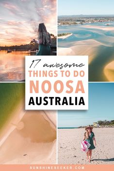 Noosa Australia: Top 17 things to do in paradise : 17 awesome things to do in Noosa, Queensland, Australia. From the Fairy Pools in Noosa National Park to boating on the everglades. See why Noosa is the perfect destination for you tropical getaway! Melbourne, Sydney, Cairns, Perth, Great Barrier Reef, Parc National, National Parks, Tasmania, Noosa Australia