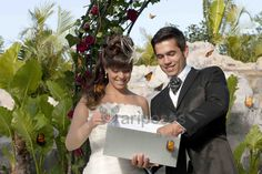 Mariposas a volar! Un momento mágico en vuestra boda