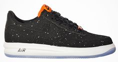 Nike Lunar Force 1 Splatter Black Hot Lava