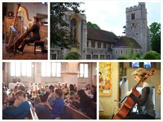 Bach to Baby concerts in Bromley at Bromley Parish church.