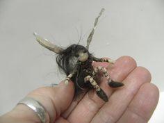 NEW ooak tiny FAIRY in a LOCKET  necklace it by dinkydarlings, $49.00