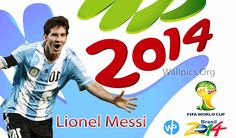 Lionel Messi FIFA WorldCup 2014 Wallpapers HD Free Downloads