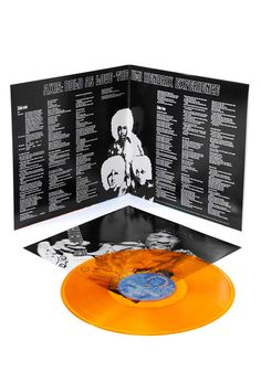 The Jimi Hendrix Experience - Axis: Bold As Love - Newbury Comics Exclusive Colored Vinyl Record Pressing -  Only 2500 of this classic guitar rock album pressed on 200 gram orange vinyl!