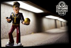Balkong Toys. 1st Collection. BLANQUITO MAN by luis ruibal, via Behance
