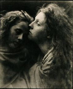 The Kiss of Peace, by Julia Margaret Cameron (c.1869)
