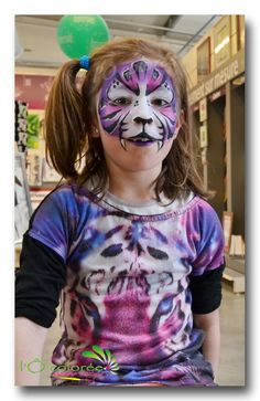 animation maquillage tigre