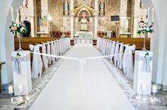 Royal Wedding Guests Outfits, Wedding Dresses, Church Aisle, Church Wedding, Table Decorations, Church Decorations, Wedding Inspiration, Wedding Ideas, Wedding Flowers