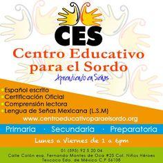 ¿Sabías que en Texcoco hay escuela para SORDOS? Con las mejores instalaciones y los profesores mas capacitados. Ven y conocelo los diferentes servicios que se ofrecen.